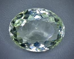 9.69 Crt  Green Prasiolite Amethyst Faceted Gemstone (Rk-76)