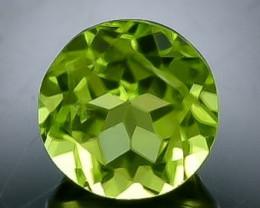 1.57 Crt Peridot  Faceted Gemstone (Rk-76)