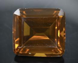10.66 Crt Conic Quartz  Faceted Gemstone (Rk-76)