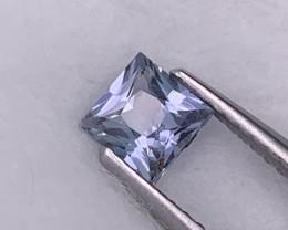 Princess Cut AAA Grade Baby Blue Unheated/Untreated Sapphire Srilanka