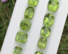 13.65 carats Amazing color Peridot Gemstone from pakistan