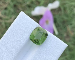 4.50 carats Greenish colour Tourmaline Gemstone From Afghanistan
