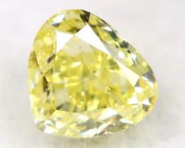 Yellow Diamond 0.19Ct Natural Untreated Fancy Diamond A1108