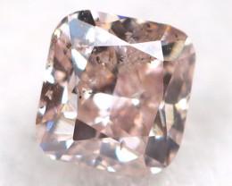 Peach Pink Diamond 0.14Ct Natural Untreated Fancy Diamond A1115