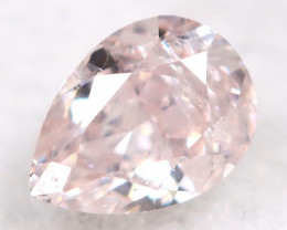 Peach Pink Diamond 0.14Ct Natural Untreated Fancy Diamond A1116