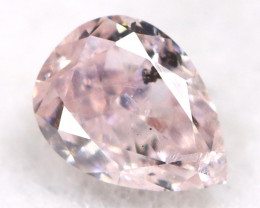 Peach Pink Diamond 0.16Ct Natural Untreated Fancy Diamond A1118