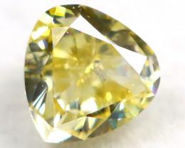 Yellow Diamond 0.26Ct Natural Untreated Fancy Diamond B1101