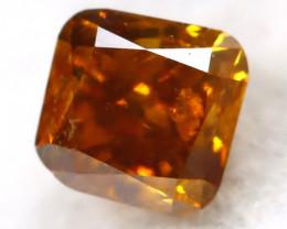 Intense Orange Diamond 0.14Ct Natural Untreated Fancy Diamond B1103