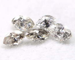 Salt and Pepper Diamond 0.38Ct Natural Untreated Fancy Diamond B1105
