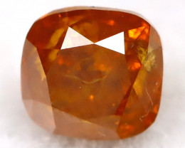 Intense Orange Diamond 0.15Ct Natural Untreated Fancy Diamond B1107