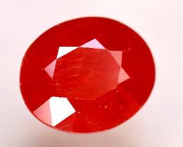 Sapphire 5.71Ct Natural Reddish Orange Sapphire DR311/B38