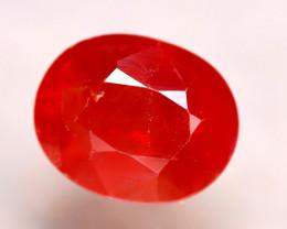 Sapphire 5.33Ct Natural Reddish Orange Sapphire DR313/B38