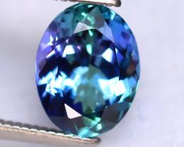 Tanzanite 2.39Ct Natural VVS Purplish Blue Tanzanite  DR318/D8