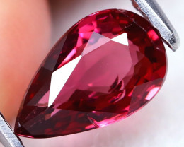 Pink Tourmaline 1.07Ct Pear Cut Natural Vivid Pink Tourmaline C1118