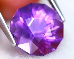 Uruguay Amethyst 3.80Ct VVS Master Cut Natural Violet Amethyst AT0712