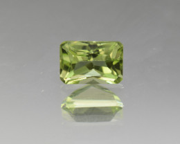 Natural Peridot 1.29  Cts, Pakistan