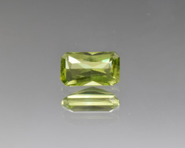 Natural Peridot 1.59 Cts, Pakistan