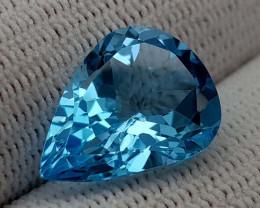 8.45CT BLUE TOPAZ BEST QUALITY GEMSTONE IIGC004
