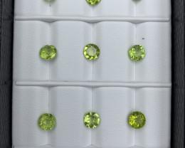 11.20 CT  Peridot Gemstones Parcel