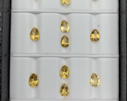 8.20 CT Citrine  Gemstones Parcel