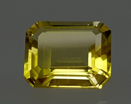 3.35Crt Lemon Quartz Natural Gemstones JI54