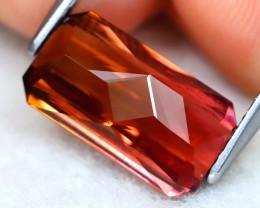 Tourmaline 3.77Ct VS Master Cut Natural Vivid Pink Color Tourmaline AT0744