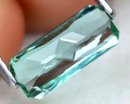Tourmaline 1.18Ct VVS Master Cut Natural Green Color Tourmaline AT0747