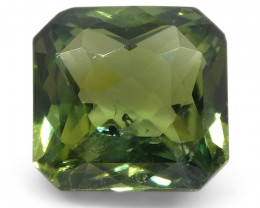 2.18ct Radiant Teal Green Sapphire