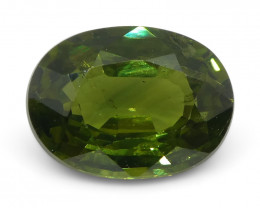1.46ct Oval Green Sapphire