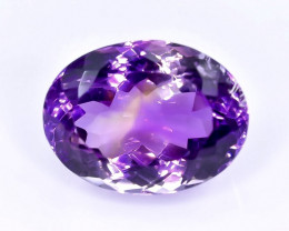 15.41 Crt Natural Ametrine Faceted Gemstone.( AB 100)