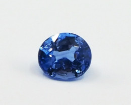 1.19ct unheated blue sapphire