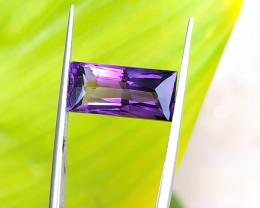 5.40 Ct Natural Purple Transparent Amethyst Gemstone