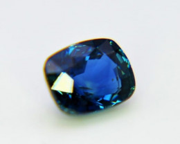 Sapphire, 2.54ct cushion cut from ceylon, certified of extraordinary qualit
