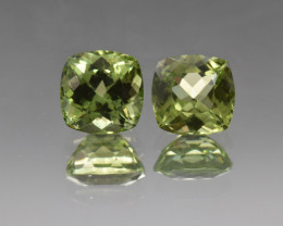 Natural Peridot Matched Pair 5.74 Cts, Pakistan