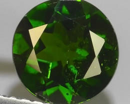 1.40 CTS NATURAL ULTRA RARE CHROME GREEN DIOPSIDE  RUSSIA NR!!
