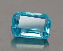 0.60CT NEON BLUE APATITE BEST QUALITY GEMSTONE IIGC005
