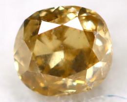 Champagne Diamond 0.10Ct Untreated Genuine Fancy Diamond C1217