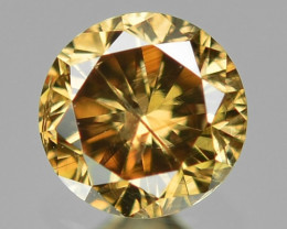 0.14  Sparkling Rare Fancy Yellowish Brown Color Natural Loose Diamond