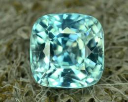 AAA Brilliance 1.75 ct Blue Zircon Cambodia ~K