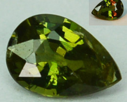 0.25 Cts Natural Color Change Alexandrite  Pear Gem India