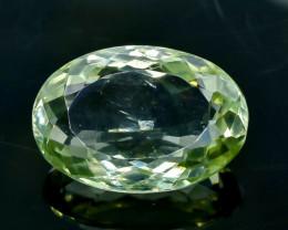 20.18 Crt Green Prasiolite Amethyst  Faceted Gemstone (Rk-77)