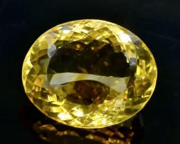 20.00 Crt Citrine Faceted Gemstone (Rk-77)