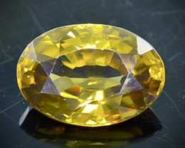 4.00 Crt  Zircon Faceted Gemstone (Rk-77)