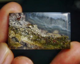 62.05 CT UNTREATED Beautiful Indonesian Moss Agate Picture