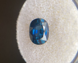 Sapphire 1.96ct FINE DEEP Blue Oval Cut 8.7x6.5mm Loose Rare Top Grade Loos