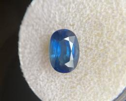 Blue Sapphire 2.13ct Oval Cut 9.1x6.3mm Loose Rare Gemstone