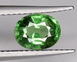 1.25 CTS Top Color Tsavorite Gemstone