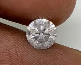 (6) Certified $2331 Stunning  0.84cts SI2 White Loose Diamond Round Natural