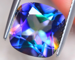 5.33ct Natural Mystic Topaz Cushion Cut Lot V7633