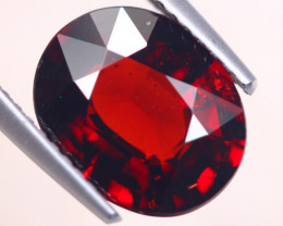 3.75Ct Natural Almandine Garnet Oval Cut Lot D406